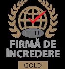Certificat firma de incredere gold 2018